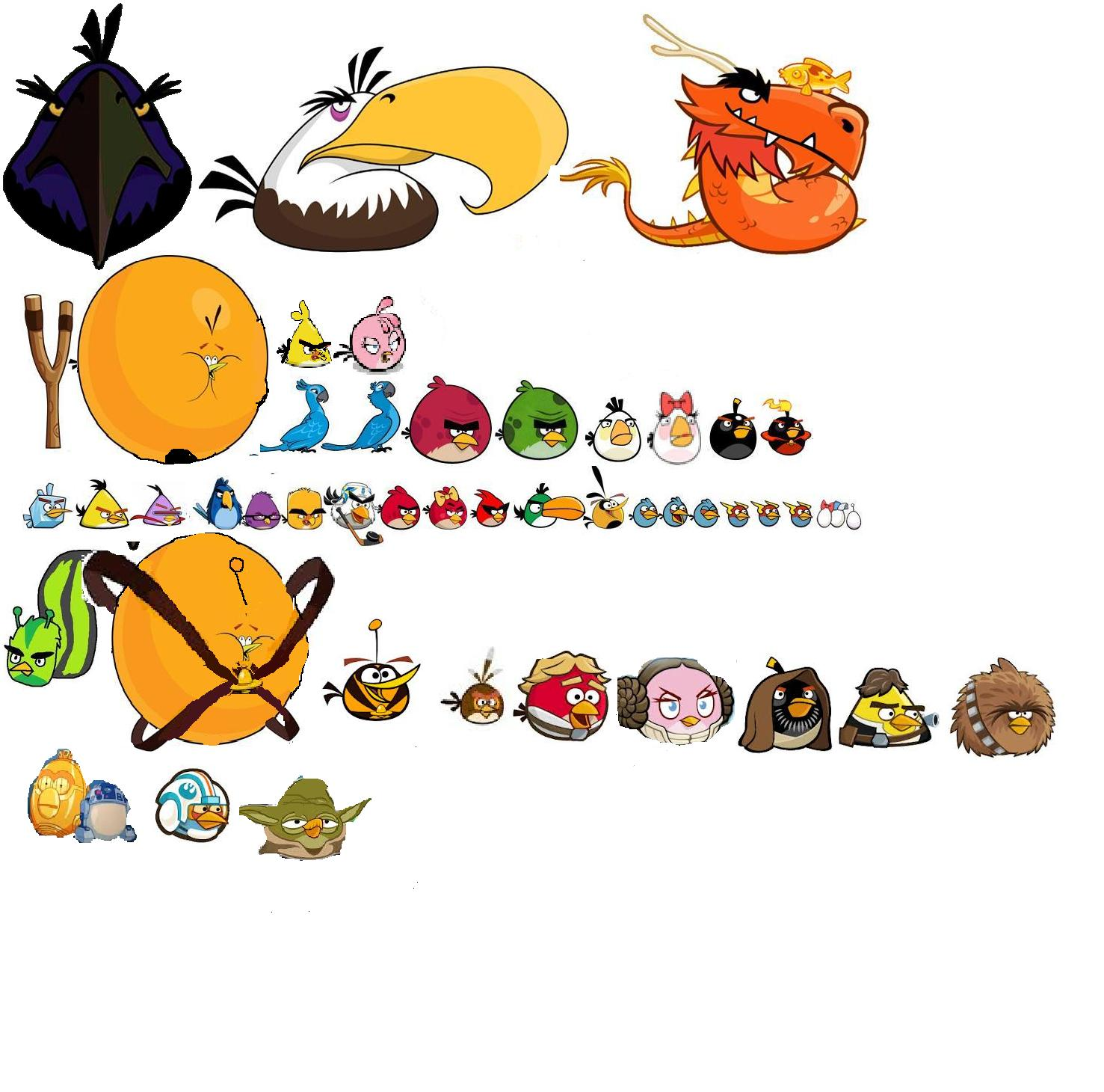 Image - Angry-Birds all the birds mejorado.jpg | Angry ...