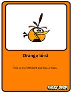 Orange-card