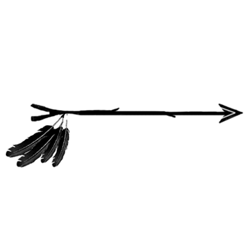 Edit A Line Or Arrow Line Arrow Wordart Picture Clip: Image - ARROW-FEATHER.png
