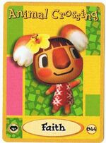 Faith's E-Reader Card