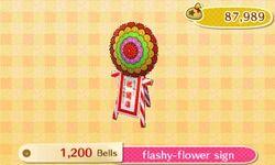 Flashy-Flower Sign Catalog