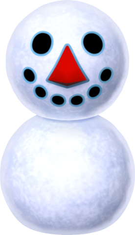 File:Snowman - Animal Crossing New Leaf.png