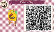 My town flag, palette