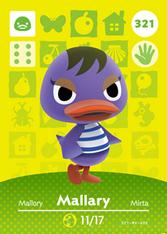 Amiibo 321 Mallary