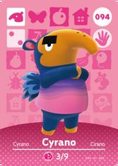 Amiibo 094 Cyrano
