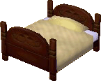 Classic bed chocolate