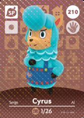 Amiibo 210 Cyrus