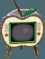 Juicy-apple TV silver