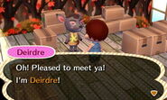 Deirdre ACNL Moving In