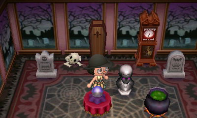 creepy set animal crossing wiki fandom powered by wikia - Halloween Animal Crossing City Folk