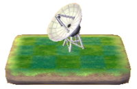PWP-Parabolic Antenna model