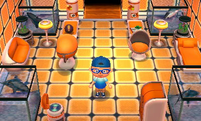 The Astro Series (きんみらいシリーズ, Kinmirai Shirīzu, Near Future) Is A Series Of  Furniture In The Animal Crossing Series. It First Appears In New Leaf.