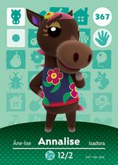 Amiibo 367 Annalise