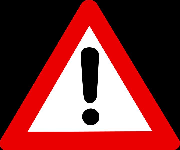 Resultado de imagen de Alerta icono