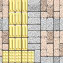 Flooring sidewalk