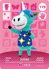 Amiibo 173 Julian