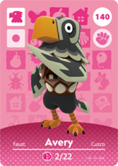 Amiibo 140 Avery