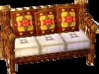 Cabin yellow sofa