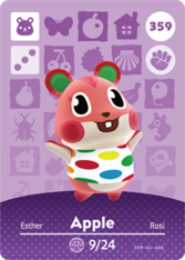 Amiibo 359 Apple
