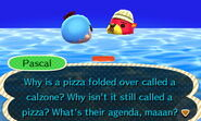 Pascal Conversation PizzaCalzone
