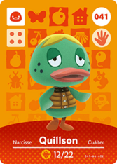 Amiibo 041 Quillson