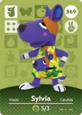Amiibo 369 Sylvia