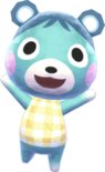 Bluebear - Animal Crossing New Leaf