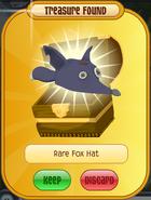 Rare Fox Hat (purple)