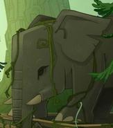 ElephantAtopTempleTriva
