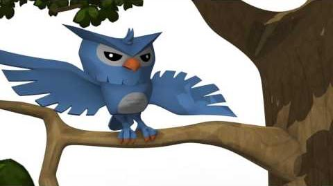 Animal Jam Owls - Out on a Limb