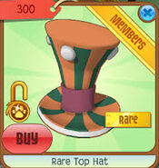 Rare Top Hat