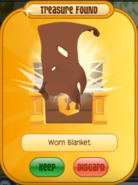 Brown worn animal jam