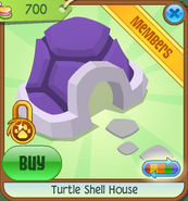 Pets-Only-Shop Turtle-Shell-House Purple