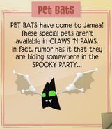 Jamaa-Journal Vol-100 Pet-Bats