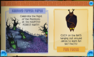 Haunted forest party