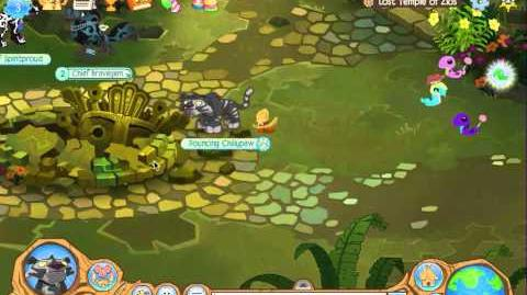 Animal Jam Lost Temple of Zios