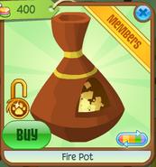 Shop Fire-Pot Orange