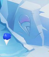 Penguins-Only-Party Snow-Cone-Carving