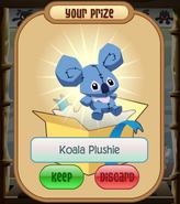 The-Claw Koala-Plushie Blue