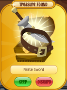 Forgotten-Desert-Treasure Pirate-Sword Brown