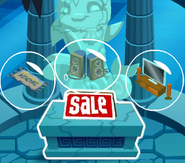 Atlantis-Party Den-Item-Shop