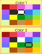 Pet monkey colors