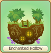 Enchanted hollow icon