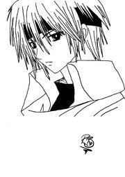 Anime boy by RosieBucky