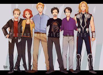 Avengers normal