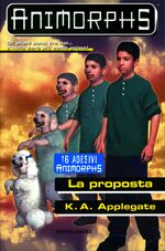 Animorphs proposal book 35 italian la proposta cover