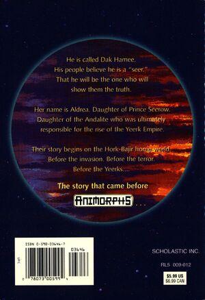 Hork bajir chronicles paperback back cover