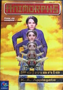 Animorphs 6 the capture pojmanie polish cover