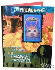 Animorphs school folder 2 step inside a morph