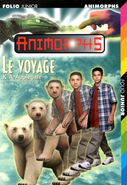Animorphs 25 the extreme le voyage french cover